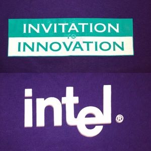 Other - Purple Intel Tee (XL) Invitation To Innovation